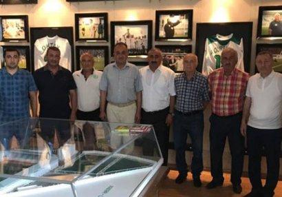 Nazim Süleymanov Lənkəranda futbol ictimaiyyəti ilə görüşdü - FOTOLAR