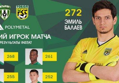 Emil Balayev yenə ən yaxşı oldu