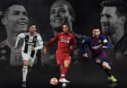 UEFA mövsümünün ən yaxşı futbolçusu adına namizədləri açıqladı