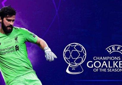 UEFA: Mövsümün qapıçısı