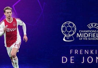 UEFA: Mövsümün ən yaxşı yarımmüdafiəçisi