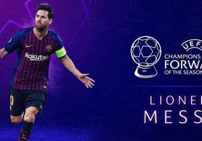 UEFA: Mövsümün ən yaxşı hücumçusu