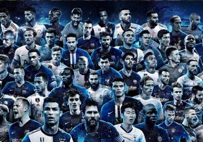 FIFA ilin simvolik komandasına 55 namizədi açıqladı