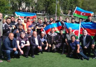 """""""Qarabağ"""" Kamçatkada çempion oldu - FOTOLAR"""