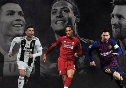 FIFA ilin ən yaxşı futbolçusunu açıqladı