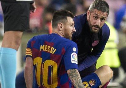Messi yenidən zədələndi