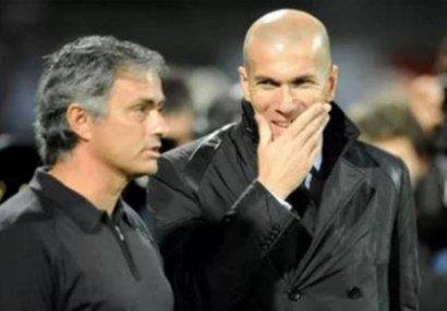 Mourinyo Zidanın yerinə göz dikib