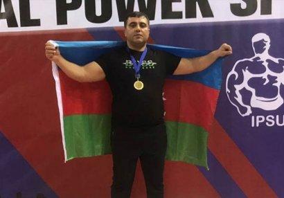 Azərbaycanlı dünya çempionu: