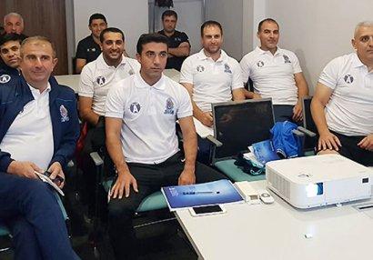 Ramazanov və Abdullayev məşqçi kursunda