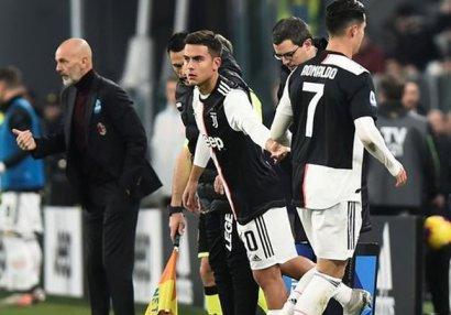 Ronaldo ilə Sarri arasında növbəti gərginlik - VİDEO