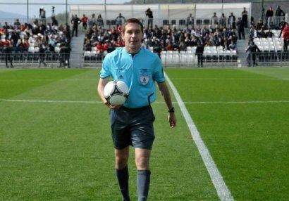 Azərbaycan - Ukrayna matçının hakimləri açıqlandı