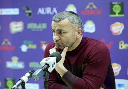 "Qurban Qurbanov: ""Qarabağ""da oynamaq asan deyil"
