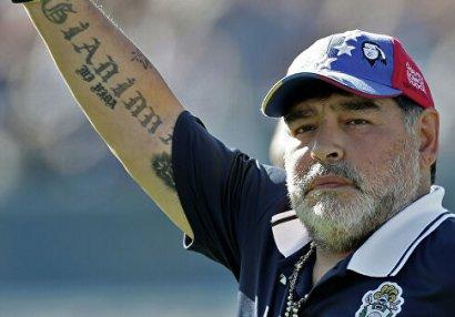 Maradona fikrindən döndü
