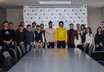 """""""Sabah""""ın gələcək planları haqda təqdimat - FOTOLAR"""
