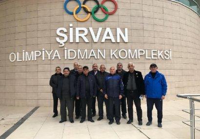 Nazim Süleymanov Şirvanda