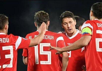 Rusiya futbolçuları
