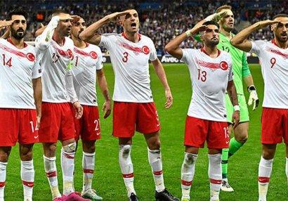 UEFA əsgər salamına görə Türkiyəyə cəza vermədi