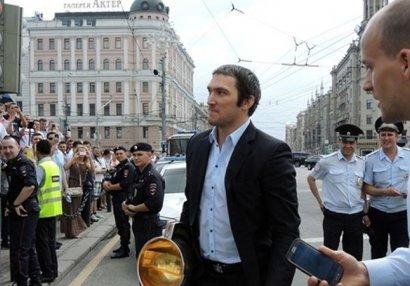 Rusiya millisinin oyunçusu Trampın şam yeməyinə qonaq oldu