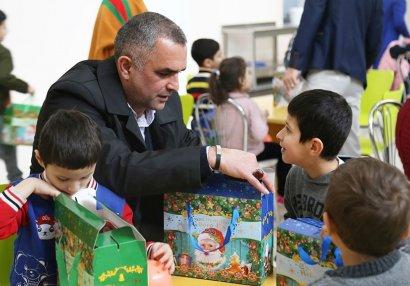"""""""Keşlə"""" internat məktəbini ziyarət edib"""