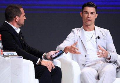 Ronaldonun saatı və üzüyünün fantastik qiyməti - FOTOLAR