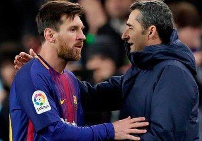 Lionel Messi sosial şəbəkədə vidalaşdı