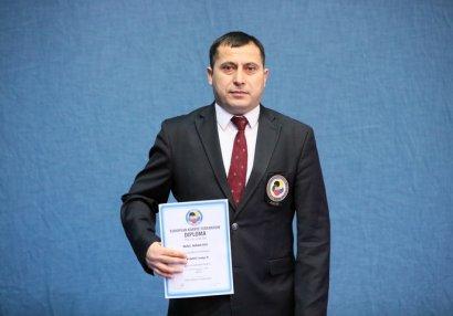 Azərbaycanlı hakim beynəlxalq ali dərəcə alıb