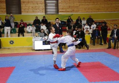 Karate üzrə açıq Zirvə birinciliyi keçirilib