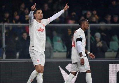 Ronaldodan yeni rekord