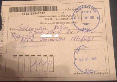 AFFA Həmkarlar İttifaqının prezidentə göndərdiyi bildiriş cavab gəldi - FOTO