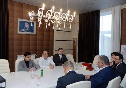 """Azad Rəhimov  """"Aeroflot open""""in qalibi ilə görüşdü"""