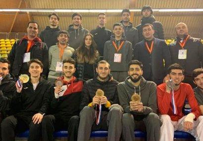 Азербайджанские таэквондисты завоевали 7 медалей в Нидерландах