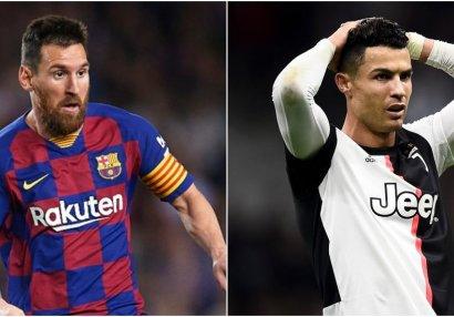 Ronaldu Messini qabaqladı və tarixin ən yaxşı futbolçusu seçildi - FOTO