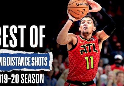 NBA-da mövsümün ən yaxşı uzaq məsafə atışları - VİDEO