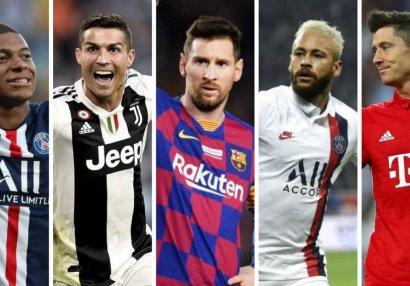 Messi, Ronaldu, Neymar... - Koronavirusla mübarizəyə dəstək verən idmançılar