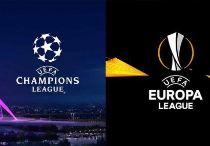 UEFA avrokuboklar üçün son tarixi müəyyənləşdirdi