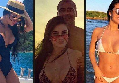 54 yaşlı Romarionun 23 yaşlı sevgilisi - FOTOLAR