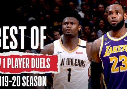 NBA-da mövsümün ən yaxşı duelləri - VİDEO