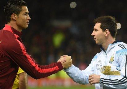 Messi son 25 ilin ən yaxşı futbolçusudu - Ronaldu ondan geri qaldı