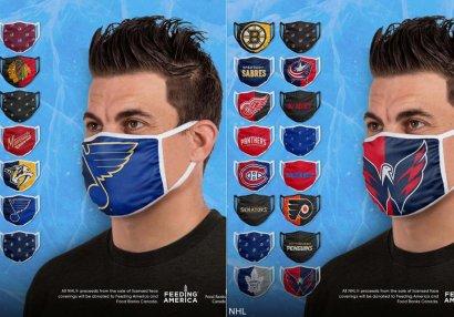 Üzərində klubların emblemləri olan maskalar satışa çıxarıldı