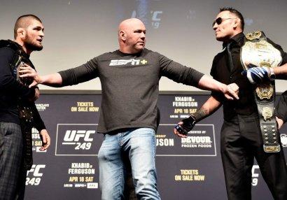 Həbib - Ferqyuson döyüşü keçiriləcəkmi? - UFC prezidentinin fikirləri