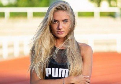 Самая сексуальная спортсменка мира возобновила тренировки (ФОТО)