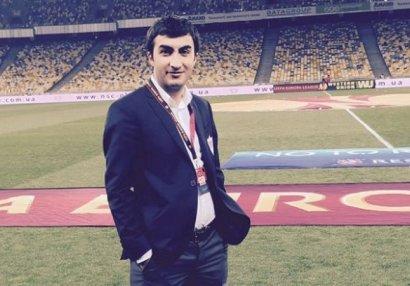 """""""Qarabağ"""" rəsmisi: """"Futbolçumuza"""