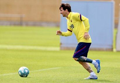 Messi imicini dəyişdi - FOTOLAR