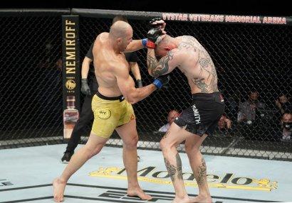 UFC Fight Night 171: Teyşeyra Smiti nokauta saldı (NƏTİCƏLƏR)