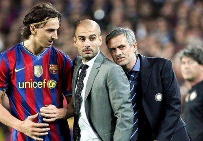 Mourinyu Quardiola ilə arasında baş verənlərə aydınlıq gətirdi: