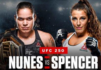 UFC 250-nin posteri - FOTO