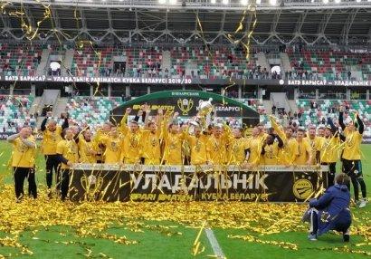 Belarus Kubokunun sahibi müəyyənləşdi