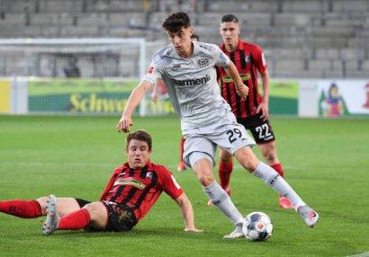 20 yaşlı futbolçu Bundesliqada tarix yazdı