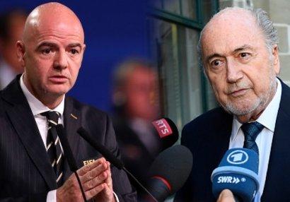 Blatterdən İnfantinoya ağır ittihamlar: