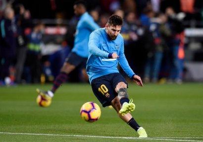 Messi yenə fərdi məşq etdi - FOTOLAR
